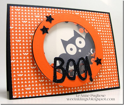LeAnne Pugliese WeeInklings TSOT233 Howl-o-ween Treat Stampin Up