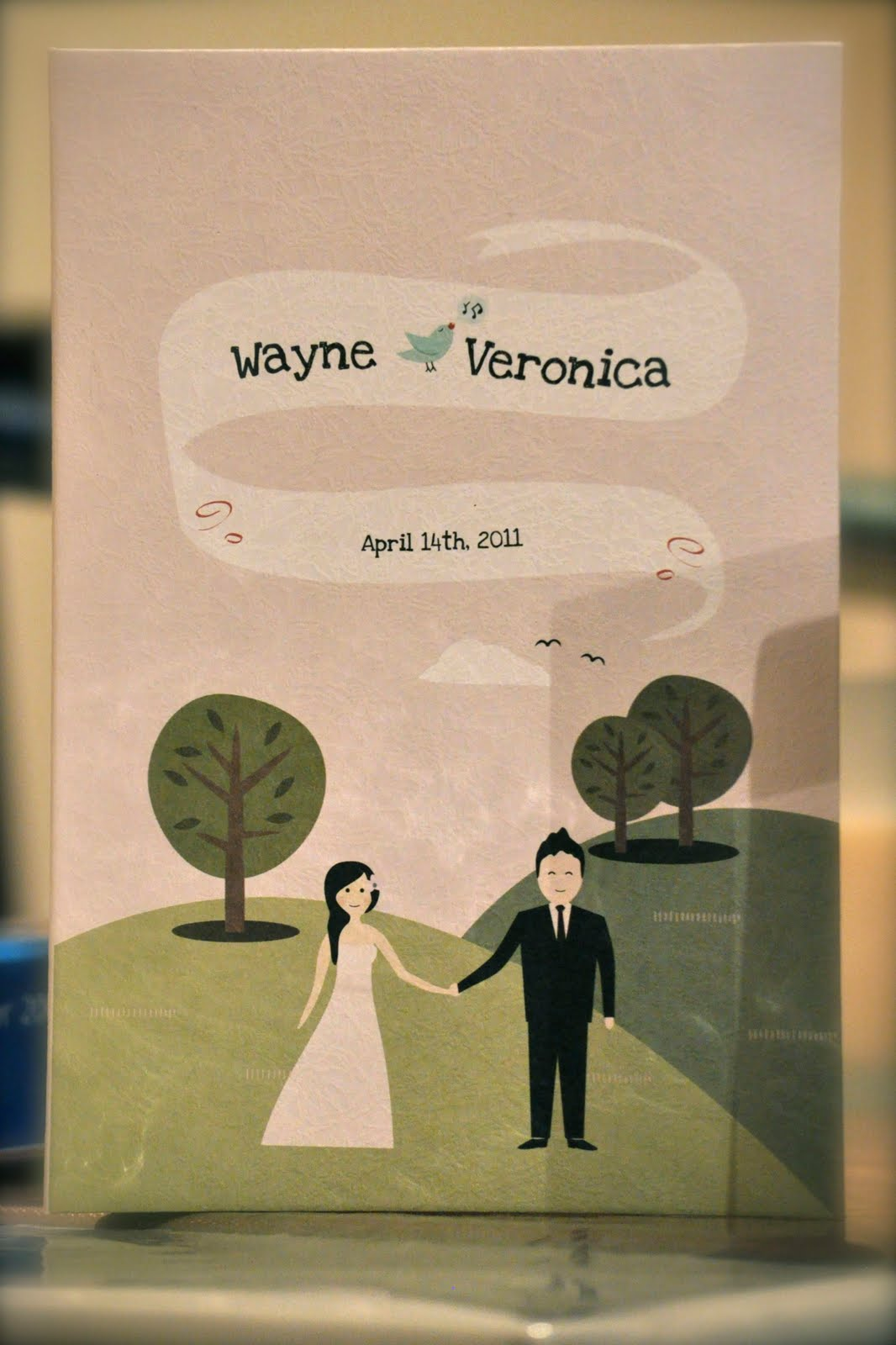 amazing wedding invitation