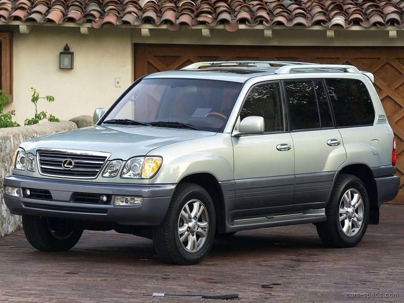 2000 lexus lx 470 suv specifications pictures prices. Black Bedroom Furniture Sets. Home Design Ideas