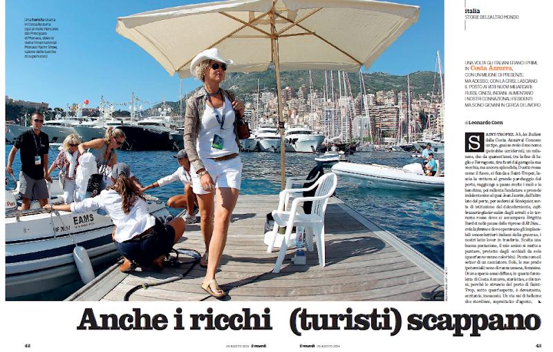 Anche i ricchi (turisti) scappano