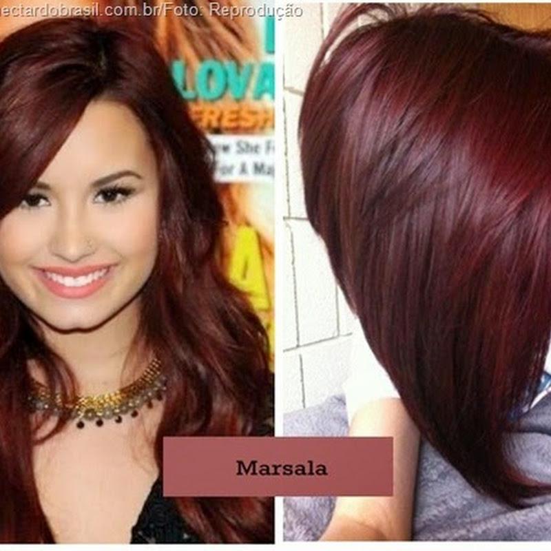 "Extremamente Já tem a cor ""marsala"" para cabelos? | Néctar do Brasil LJ76"