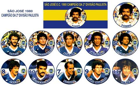 242 - São José 1980 - Campeão da Segundona Paulista