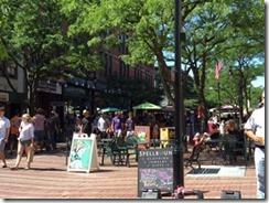 Burlington street scene