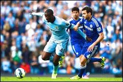 Manchester City enfrenta a  Chelsea