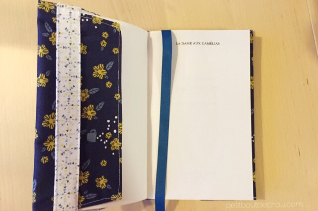 Japanese Paper Book Cover : Diy japanese style adjustable book cover petit bout de chou