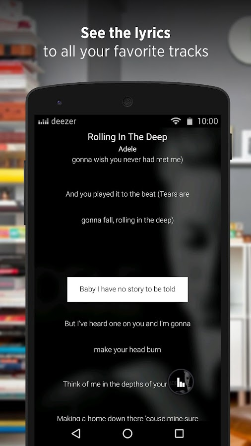 Deezer - Songs & Music Player Screenshot 3