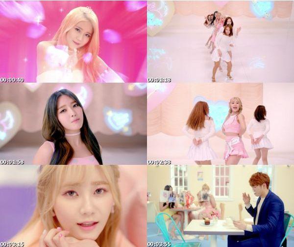 [MUSIC VIDEO] AOA Cream 에이오에이 크림 – I'm Jelly BABY (2016.02.12/MP4/RAR)