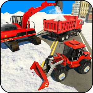 Excavator Snow Plow: City Snow Blower Truck Games For PC / Windows 7/8/10 / Mac – Free Download