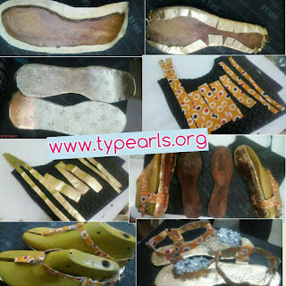 leather sandal making