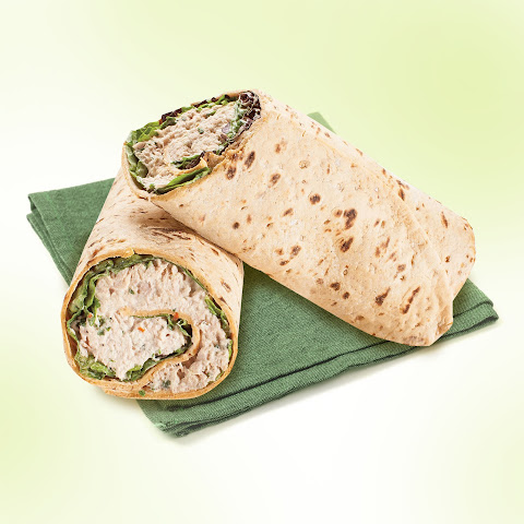 Buffalo Ranch Tuna Flatbread Wrap