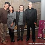 El guitarrista Josué Tacoronte y la soprano Erika Escribá-Astaburuaga que clausurarán las Jornadas el domingo 23, junto a José Luis Ruiz del Puerto, Director de las Jornadas y el compositor y guitarrista Jaume Torrent.