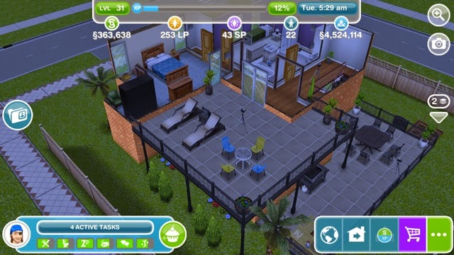 Sims Freeplay Dream Homes Update Balconies