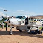 Diese Maschine fliegt uns von Kihihi nach Entebbe © Foto: Marco Penzel | Outback Africa