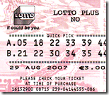 [lotto ticket]