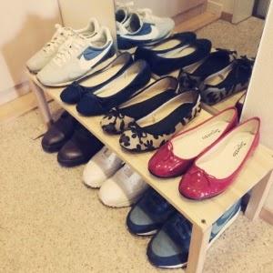シンプルライフワードローブ靴