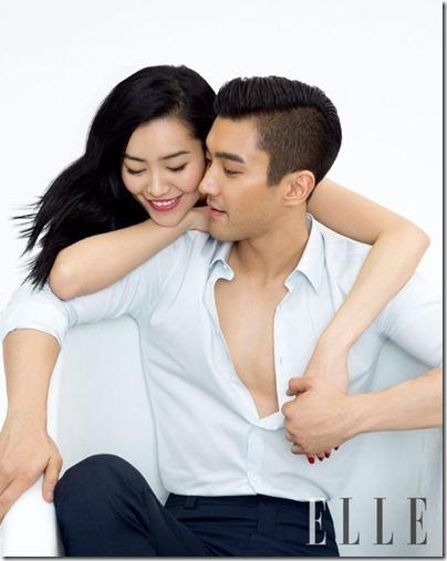 Liu Wen 刘雯 X Choi Siwon 崔始源 ELLE 03