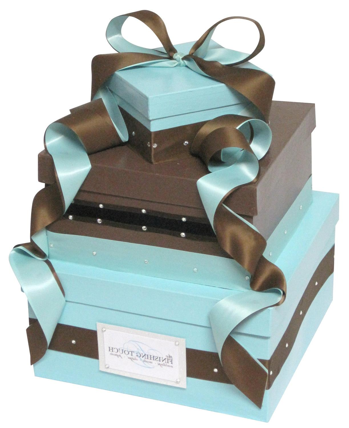 Wedding Gift Card Box with