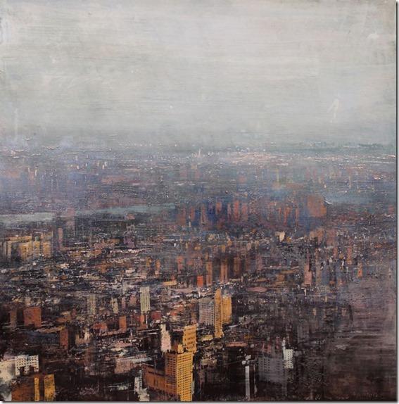 N.Y. con tarde brumosa-Alejandro-Quincoces-ENKAUSTIKOS