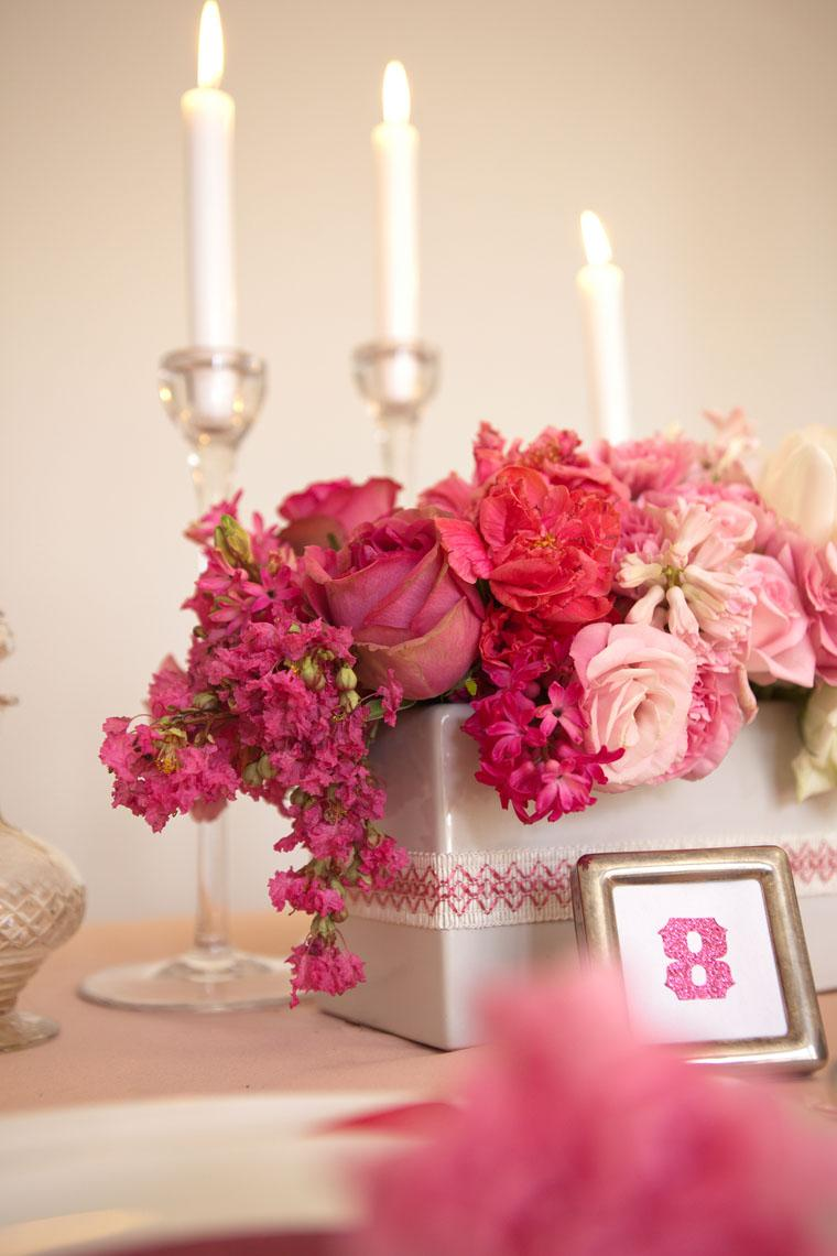 Wedding flowers in silk,