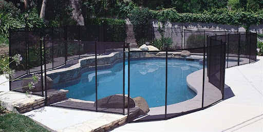 Removable In-Ground Safety Fence Comes in pre-assembled 4'H x 12'L and 5'H x 12'L lengths; can be easily shortened to fit any pool area