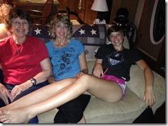 Sandy, Haley, Ansley