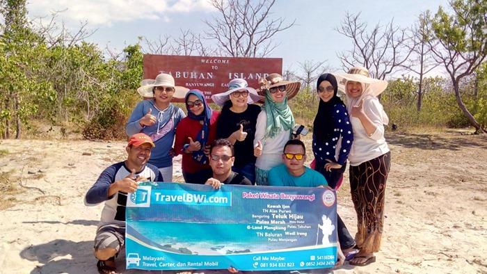 Travel BWi Banyuwangi - Trip Pulau Menjangan Pulau Tabuhan Banyuwangi