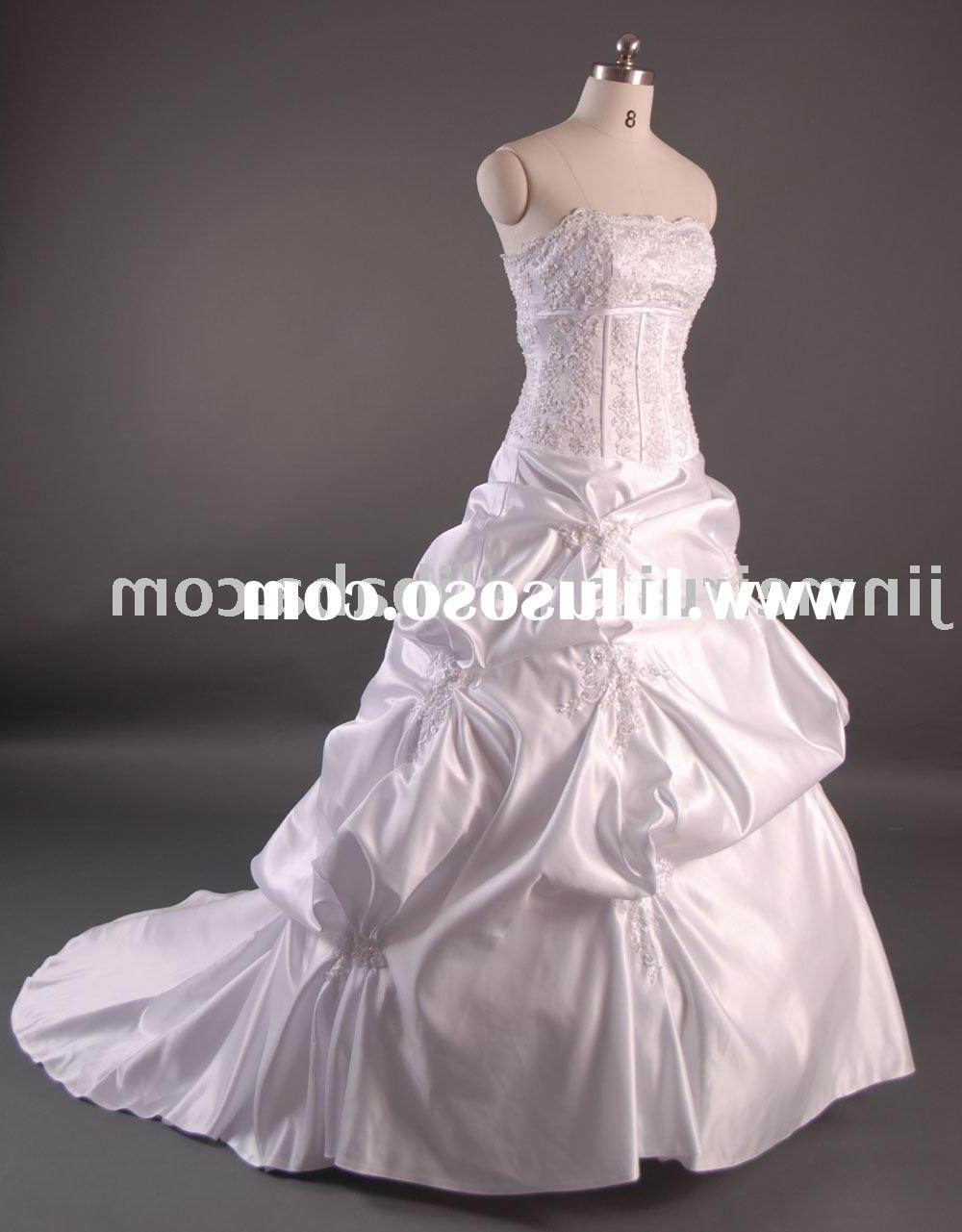 wedding gown dress tea length