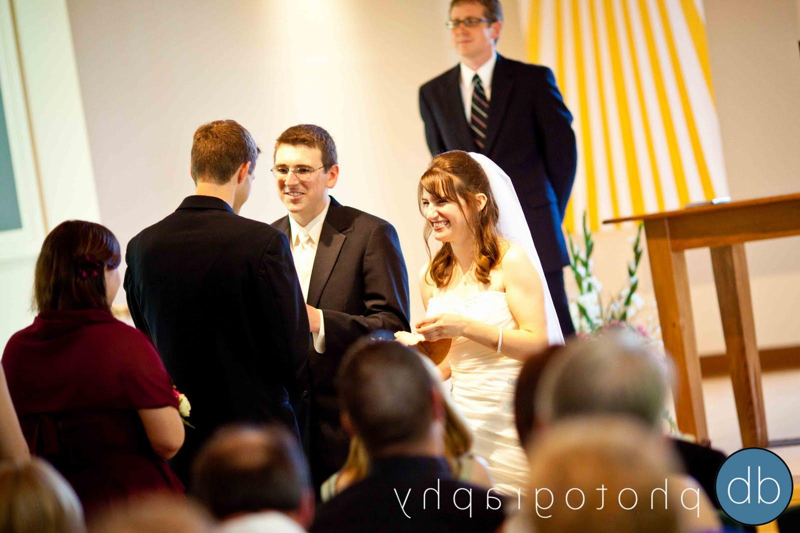 At The Altar : wedding