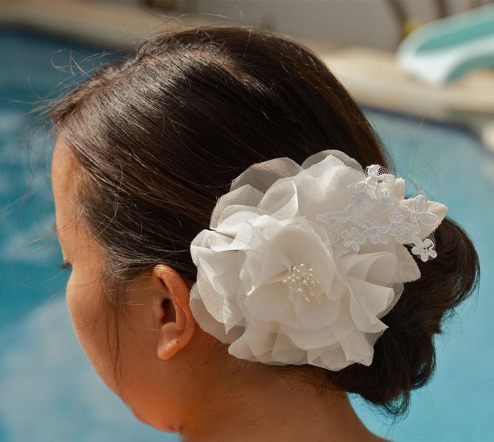 AVA - Ivory dramatic Bridal