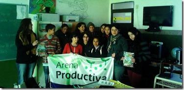 El Programa Arena Productiva asesoró sobre huertas orgánicas a otra institución educativa de La Costa