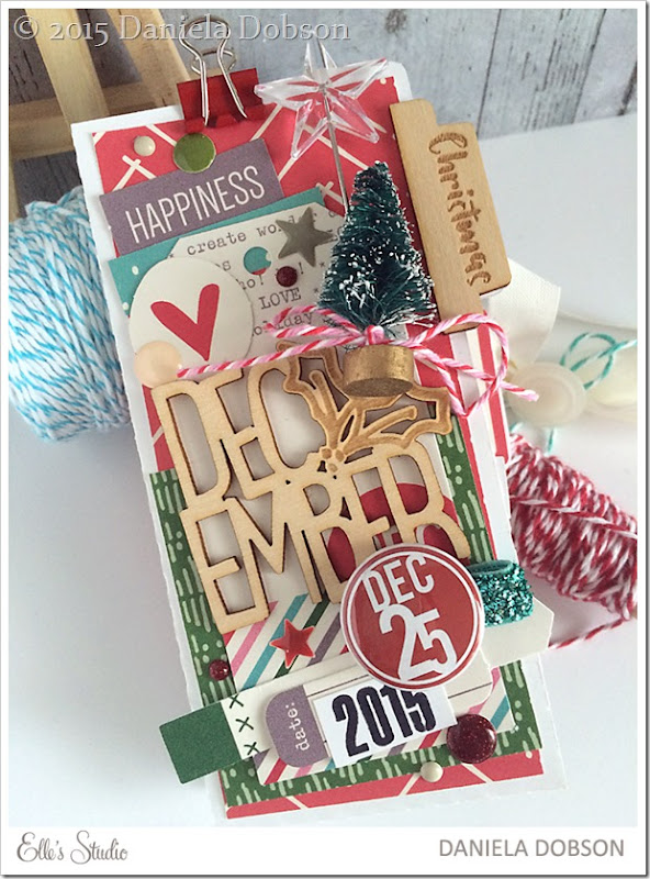 December 25 mini front by Daniela Dobson