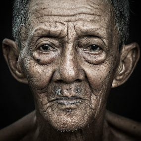 Oldman by Chegu Diman - People Portraits of Men ( chegu diman )