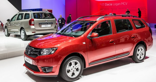 new dacia logan mcv ditches third row seating and becomes mainstream live photo update. Black Bedroom Furniture Sets. Home Design Ideas