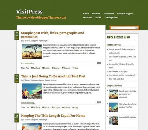 visit-press-template