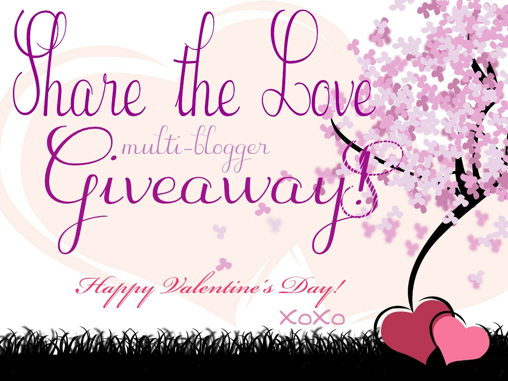 Share the love, a Valentine's Collaboration giveaway!