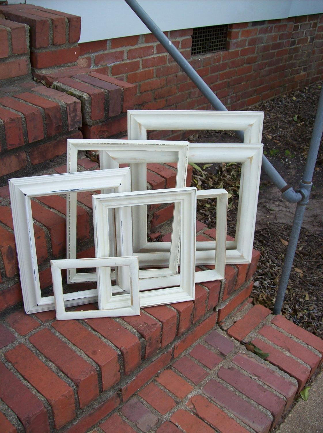 Vintage Picture Frames Wedding Photos French Country Farmhouse Pottery Barn
