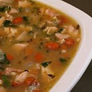 Chicken-Pinto Bean Soup