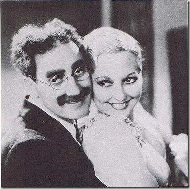 Thelma Todd con Groucho