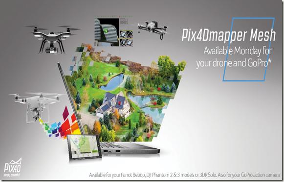 pix4dmapper mesh