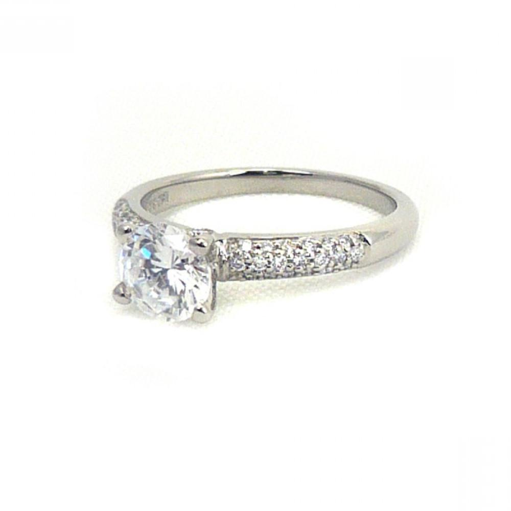 pave wedding rings for women