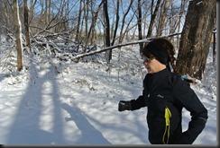Cheryl running alone.....( sniff!)