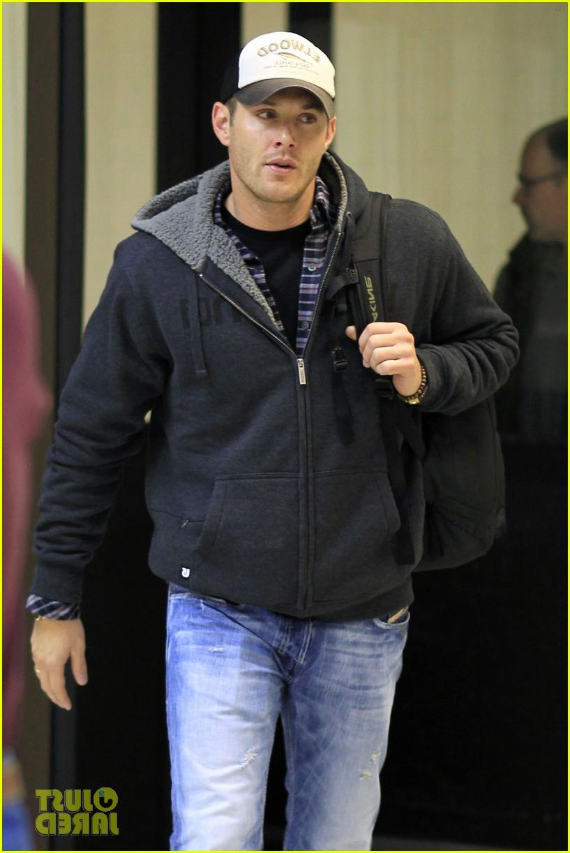 Jensen Ackles arrives in Los
