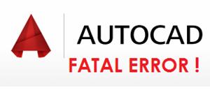 Memperbaiki autocad rusak karena Fatal Error