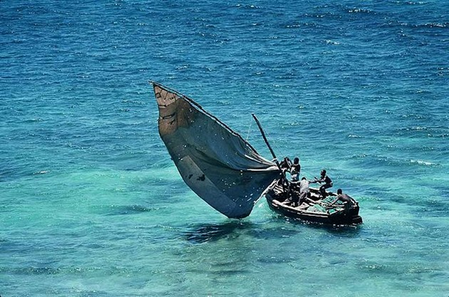 Traditional Sailboat of Mozambique