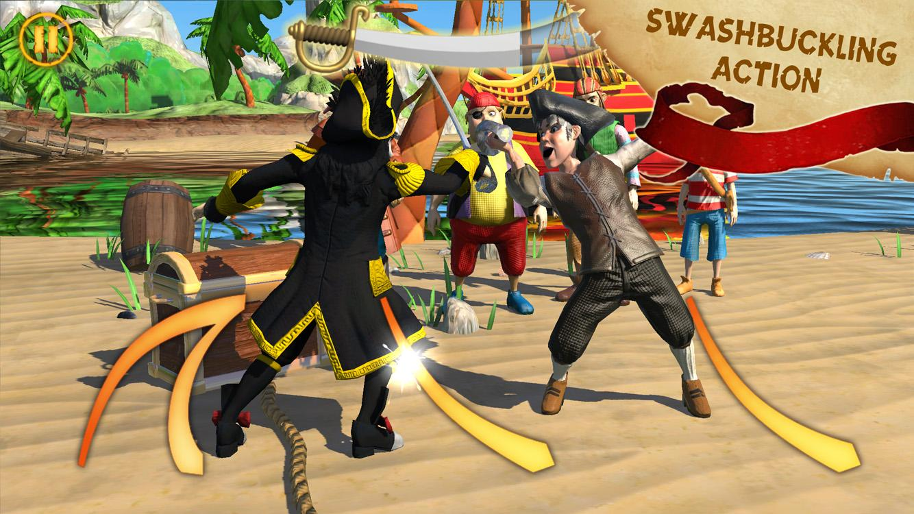 Captain Sabertooth Lama Rama Screenshot 1