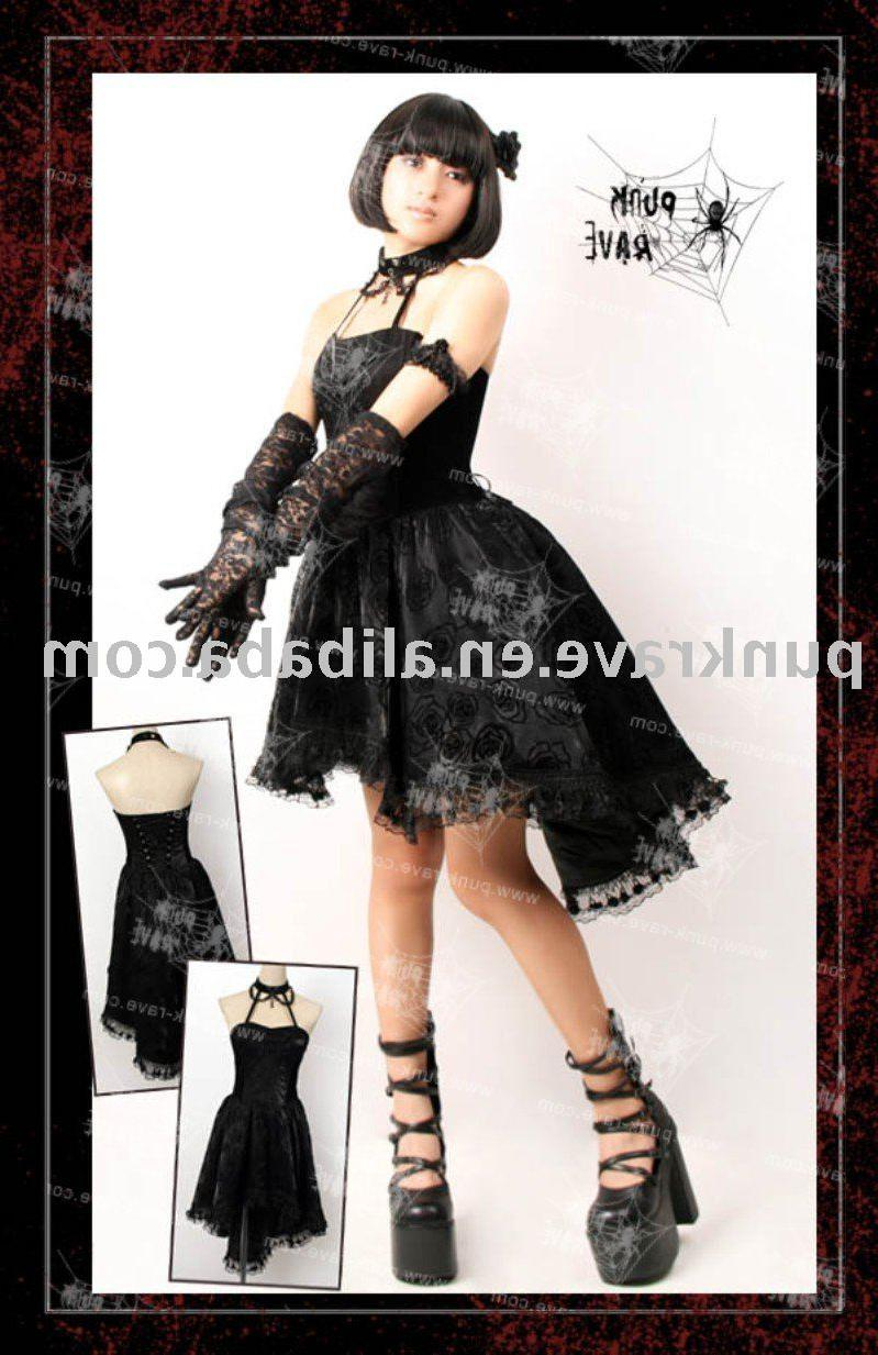 Q-134 Fashion Gothic Dress