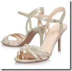 Nine West pale gold Strappy Sandals