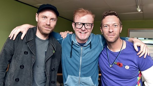 coldplay 2015-11-06 BBC Radio 2 Chris Evans Breakfast Show