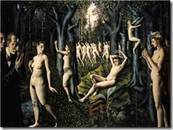 Paul_Delvaux_The_Awakening_of_the_forest_33203