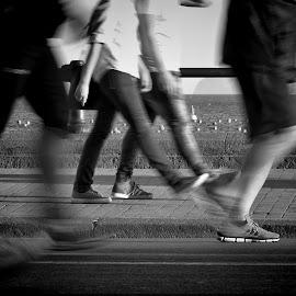by Vincenzo Zannini - City,  Street & Park  Street Scenes